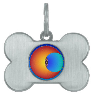 Eye Of The Sun Pet Tag