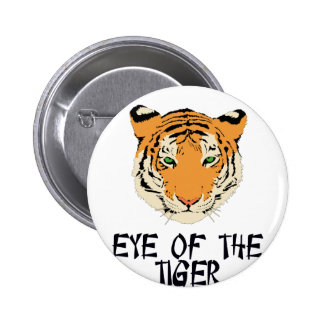 Eye of the Tiger by Chillee Wilson 6 Cm Round Badge