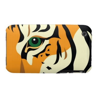 Eye of the Tiger iPhone 3 Case