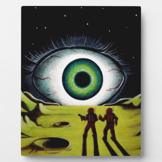 EYE OF THE WATCHER DISPLAY PLAQUES