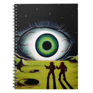 EYE OF THE WATCHER NOTE BOOK