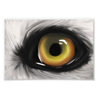Eye of the Wolf Photo Print