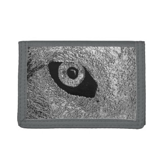 EYE OF WOLF TRIFOLD WALLET