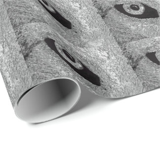 EYE OF WOLF WRAPPING PAPER