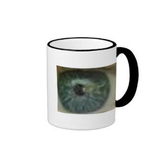 Eye on Plane Ringer Mug