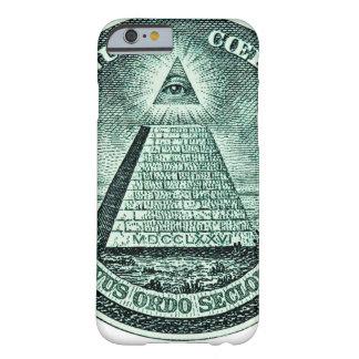 Eye On The Dollar Illuminati Pyramid Barely There iPhone 6 Case