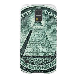 Eye On The Dollar Illuminati Pyramid Galaxy S5 Cover