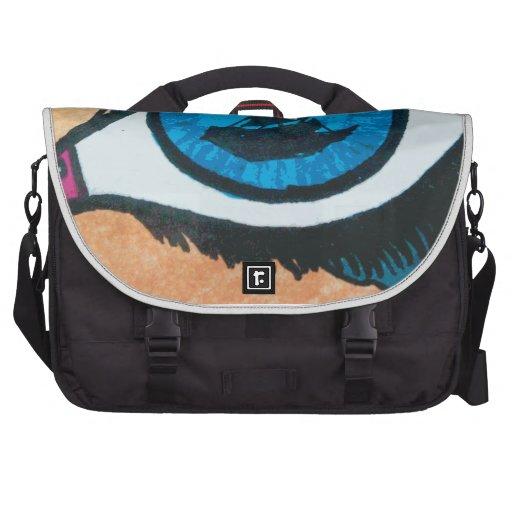 Eye on the Sea Mermaid Tears Laptop Bags