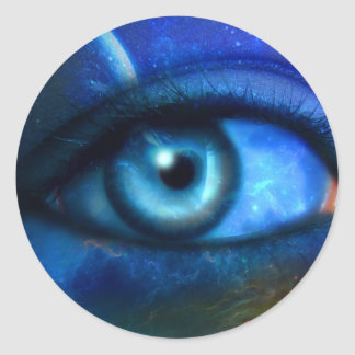 Eye on the Universe Sticker