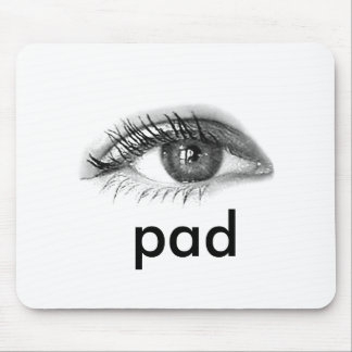 eye pad mouse pad