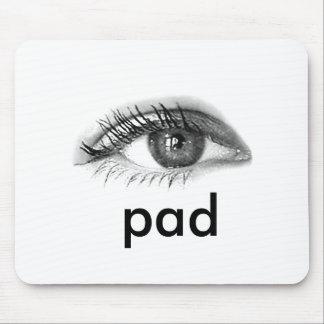eye pad mouse pad