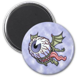 Eye Paul 6 Cm Round Magnet