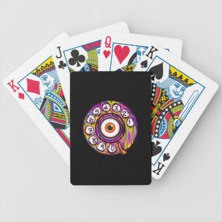 Eye Phone Bicycle Playing Cards