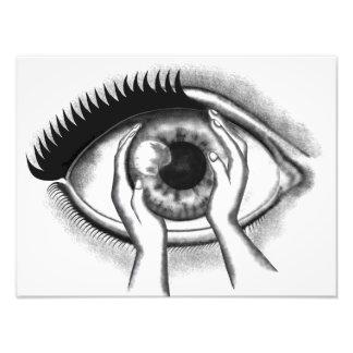 eye photo art