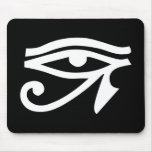 Eye Ra Horus Black Mouse Pads