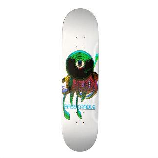 Eye Record Trip by Bass Cradle 21.6 Cm Old School Skateboard Deck