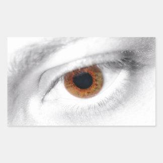 Eye Rectangular Sticker