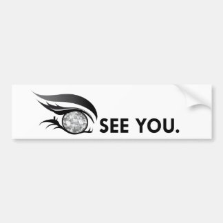 "EYE SEE YOU ""APRIL DIAMOND"" BUMPER STICKER"