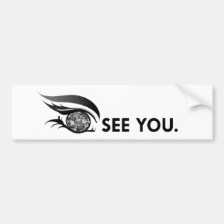 "EYE SEE YOU ""BLACK DIAMOND"" BUMPER STICKER"