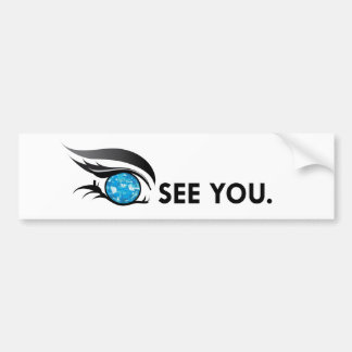 "EYE SEE YOU ""DECEMBER ZIRCON"" BUMPER STICKER"