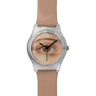 Eye See You Eyeball Watching ICU Hospital Nurse Wrist Watch