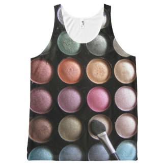 Eye Shadow All-Over Print Tank Top
