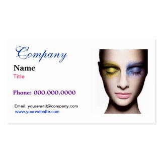 Eye Shadow Business Card Template