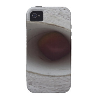 eye shaped hole made of paper vibe iPhone 4 case