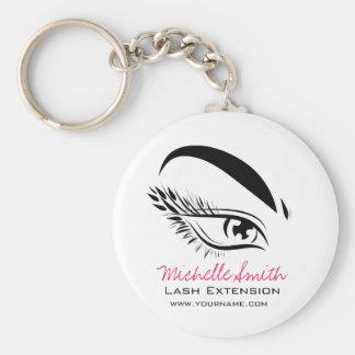 Eye Sketch Mascara Lash Extension Key Ring