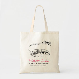 Eye Sketch Mascara Lash Extension Tote Bag