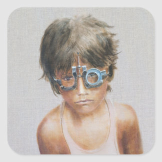 Eye Test at Vivekananda Square Sticker