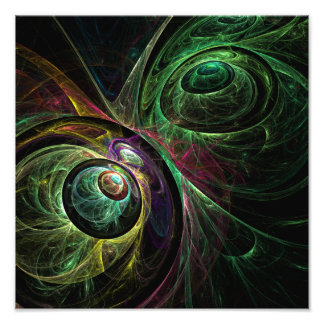 Eye to Eye Abstract Art Photo Print