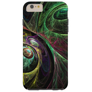Eye to Eye Abstract Art Tough iPhone 6 Plus Case