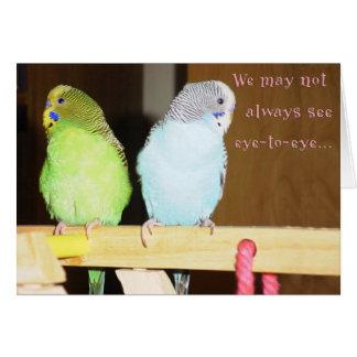 Eye to Eye (Spouse) Card