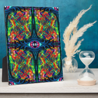 Eye Twisted and Trippy Display Plaques