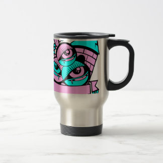 eye vampire fun travel mug
