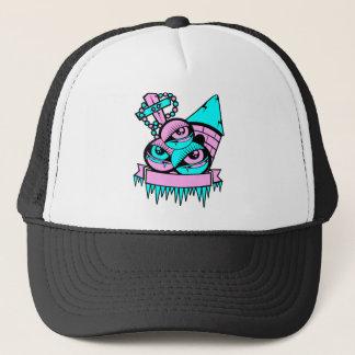 eye vampire fun trucker hat