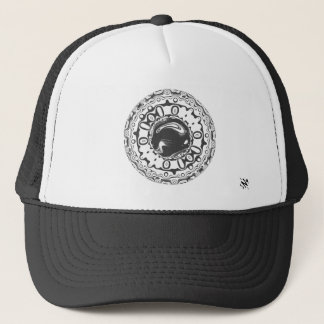 Eye with hypnotic pupil (or whatever you see) trucker hat