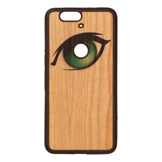 eye wood nexus 6P case