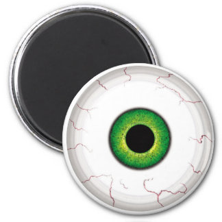 Eyeball 6 Cm Round Magnet