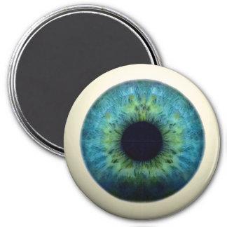 EYEBALL! (A great Halloween novelty item!) ~ 7.5 Cm Round Magnet