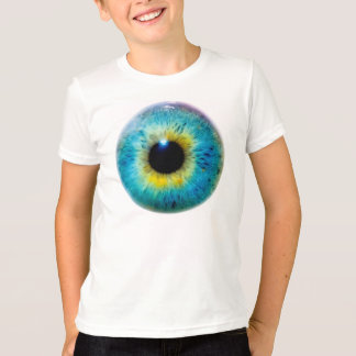 Eyeball Eye I Tee T-Shirt (Youth Medium)