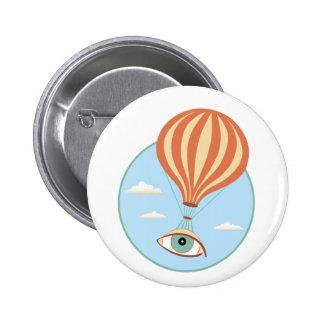 Eyeball Hot Air Balloon Button