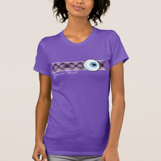 Eyeball; Purple T-Shirt