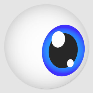 Eyeball Stickers (Blue)