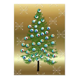 Eyeball Tree 13 Cm X 18 Cm Invitation Card