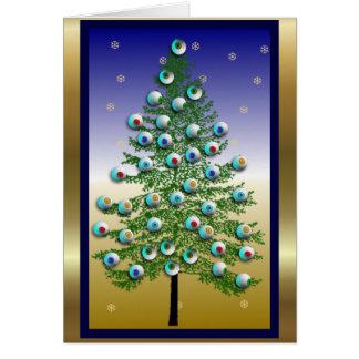 Eyeball Tree Greeting Card