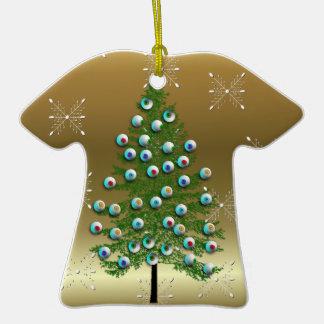 Eyeball Tree Christmas Tree Ornaments