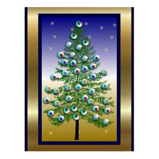 Eyeball Tree Postcards