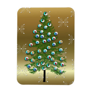 Eyeball Tree Rectangular Photo Magnet